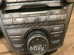 07 09 Acura MDX Screen Monitor Mp3 Stereo Wma CD DVD Radio Climate Switch Oem