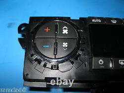 07-12 Acadia Climate Control Instrument Panel Perfect Buttons Restored 25932036