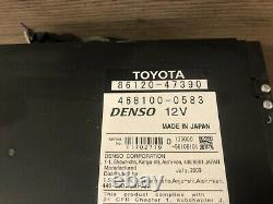 10 2012 Toyota Prius CD Navigation Map Screen Monitor Radio Stereo Climate Oem