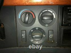 2007 Volvo VNL Heater & AC Temp Control 3 Knobs 2 Buttons