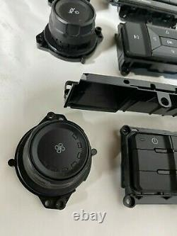 2016-17 FORD F150 RADIO climate control dash screen BAZEL KNOBS AND BUTTONS
