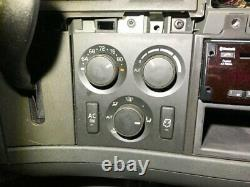 2019 Volvo VNL Heater & AC Temp Control 3 Knobs, 2 Buttons