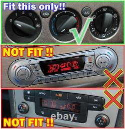 For Ford Focus 2 3 Mondeo S C-Max A/C Heater Climate Control Switch Knobs Button